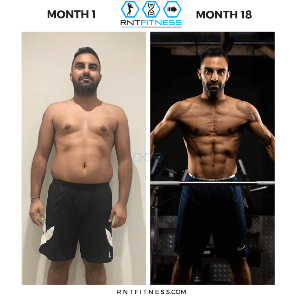 entrepreneur body transformation